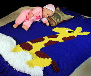 baby, etsy, and baby afghan image