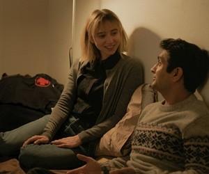 couple, romance, and Zoe Kazan image