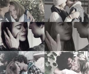 couple, eva, and kiss image
