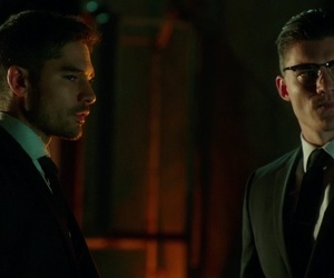 glasses, richie, and suit image