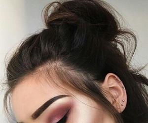 contour, eyebrows, and eyeshadow image