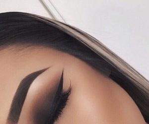 contour, eyebrows, and eyelashes image