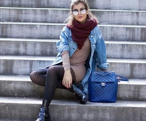 girl, look, and fashion image