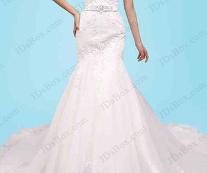 bridaldress, chapel train, and lowback image