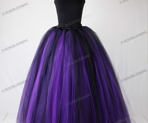 prom dress, gothic style, and gothic prom dress image
