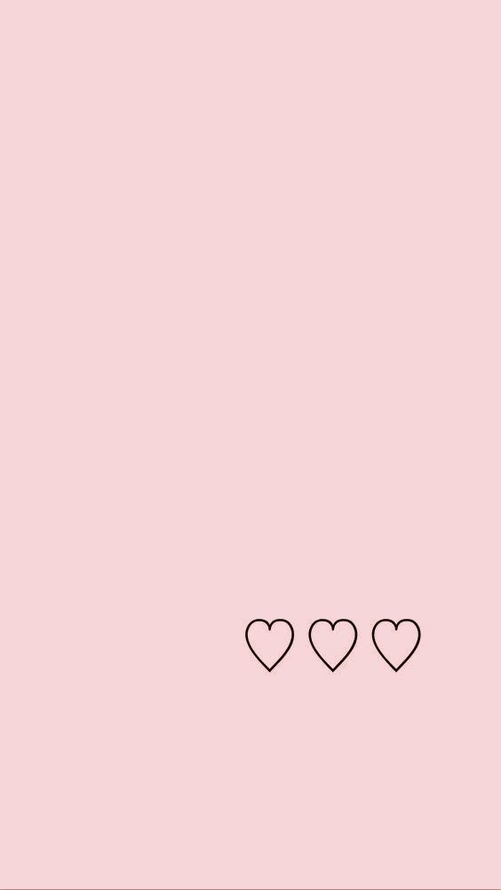 background, hearts, and pink image