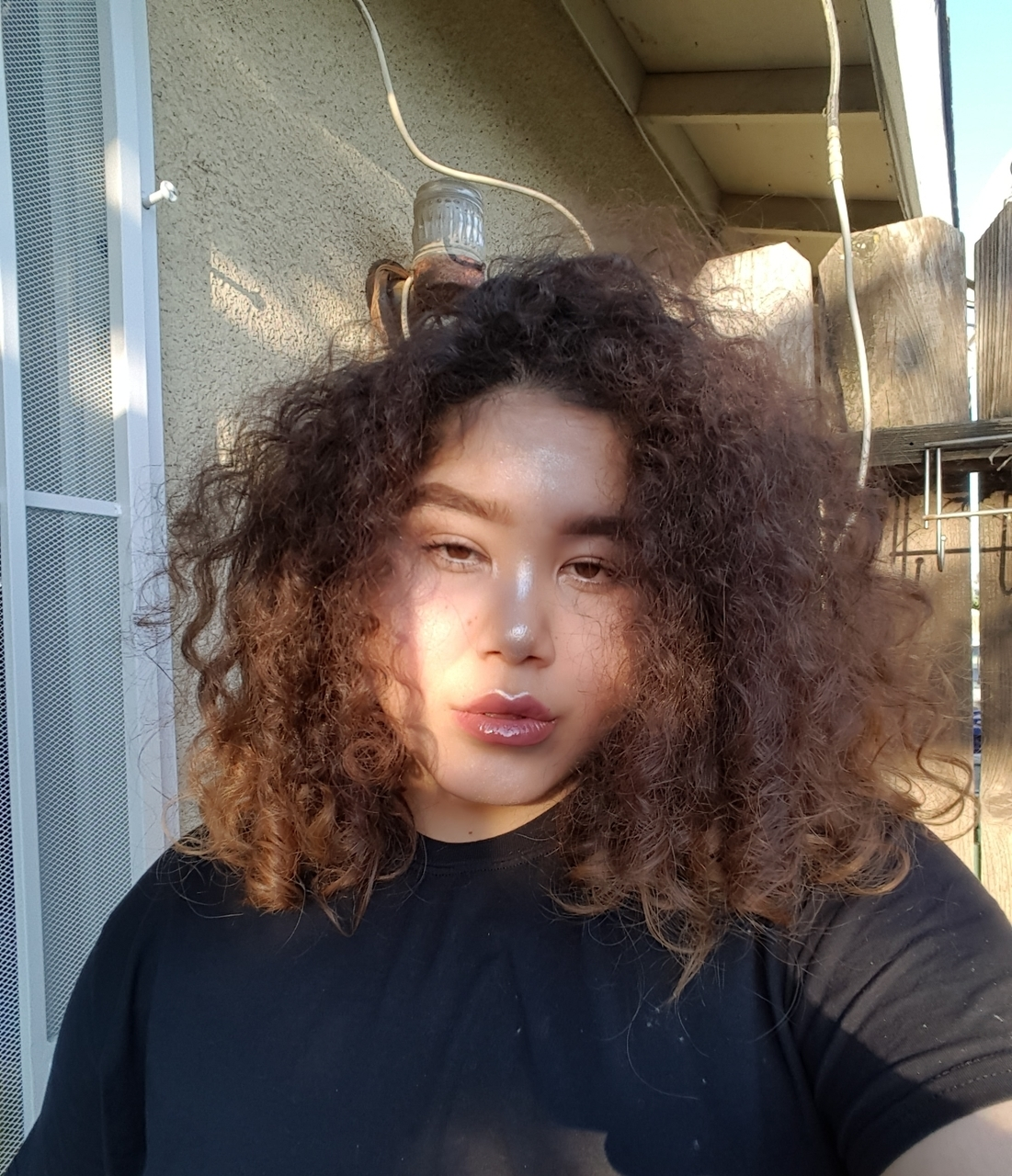 artsy, curly, and fashion image