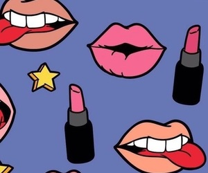 lips, background, and lipstick image