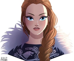 winter is coming, a song of ice and fire, and pretty blue eyes image