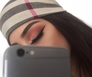 dress, eye makeup, and eye shadow image