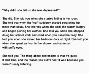 depression and mental illness image