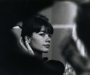 francoise hardy and vintage image