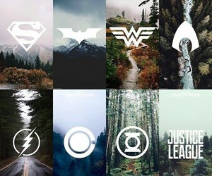 flash and justice league image