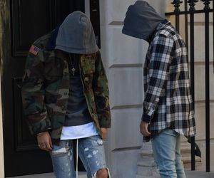 caps, men, and shoes image