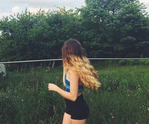 17, brunette, and art image