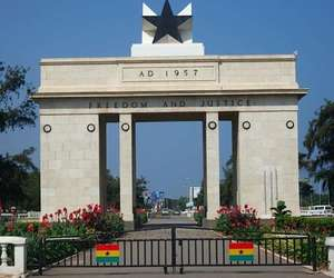 tourist sites in ghana image
