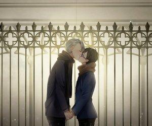 kiss, viktornikiforov, and yurikatsuki image