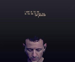linkin park, chester bennington, and in pieces image