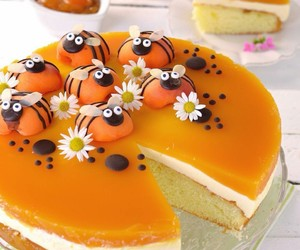 apricots, dessert, and food image