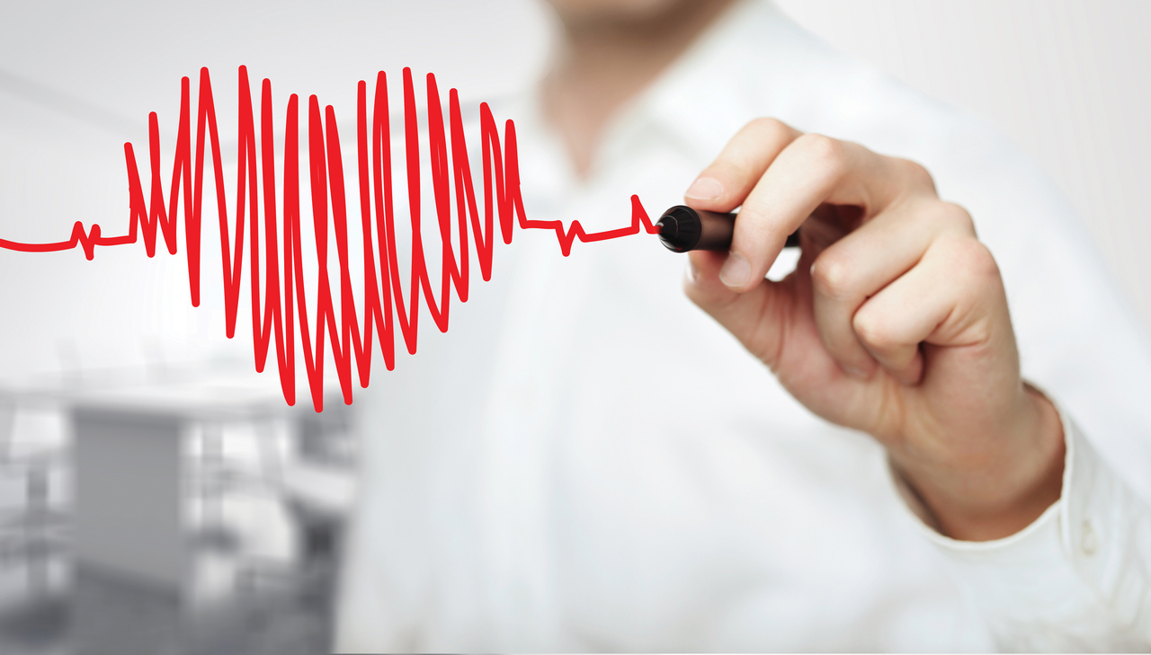 healthy heart and high cholesterol image