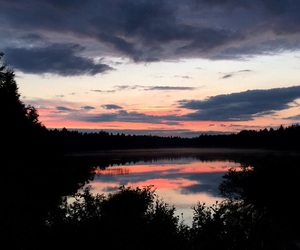 finland, sunset, and summer image