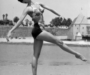 vintage, black and white, and Cyd Charisse image
