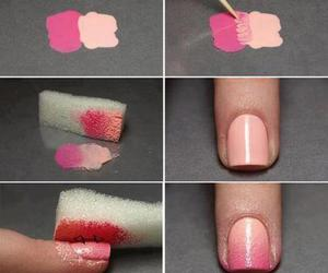 nails, pink, and diy image