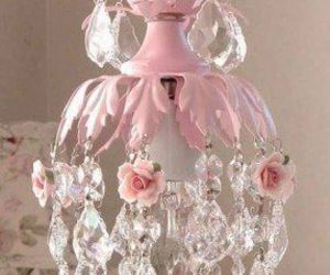 my style shabby chic and mini chandalier image