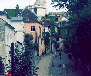 montmartre, paris, and romantique image
