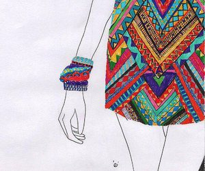 art, drawing, and tribal image