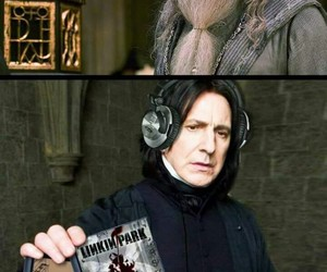 linkin park and harry potter image