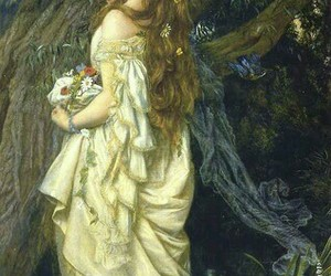 art, ophelia, and arthur hughes image