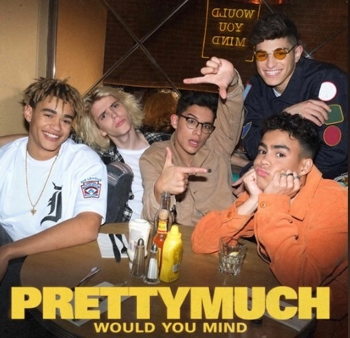 music, prettymuch, and would you mind image