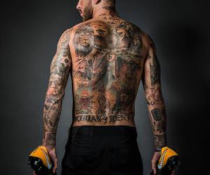 real madrid, sergio ramos, and tattoo image