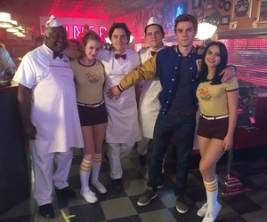 riverdale, kj apa, and cole sprouse image
