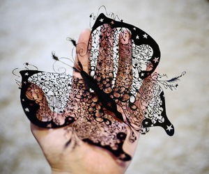 butterfly paper magic image
