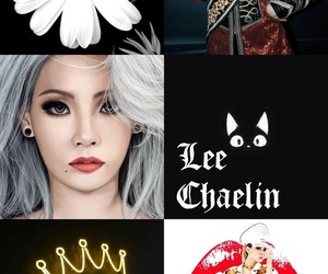 black, CL, and korean girl image