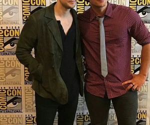 richard harmon, sdcc, and bob morley image