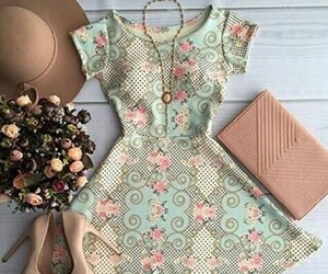dress, outfit, and cute image