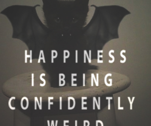 quotes, happiness, and weird image