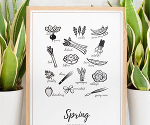 autumn, etsy, and spring image