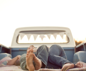 couple, love, and truck image