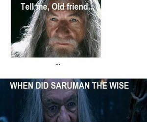 gandalf, meme, and the image