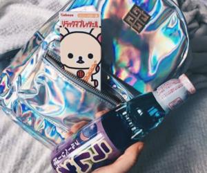 bag, bear, and drink image