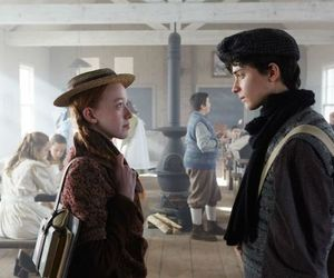gilbert blythe, anne with an e, and anne shirley image
