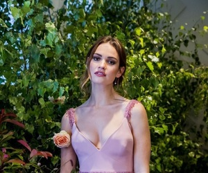 lily james, beauty, and actress image