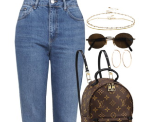 accessories, sunglasses, and backpack image