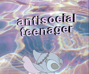 antisocial, blue, and crown image