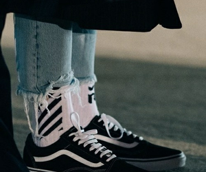 vans, style, and shoes image