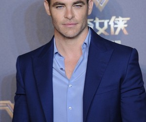 actor, chris pine, and handsome image